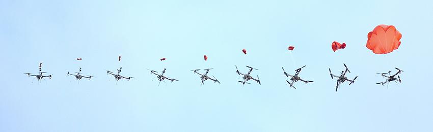 Kui su droonil puudub kindlustus? Langevarjud…