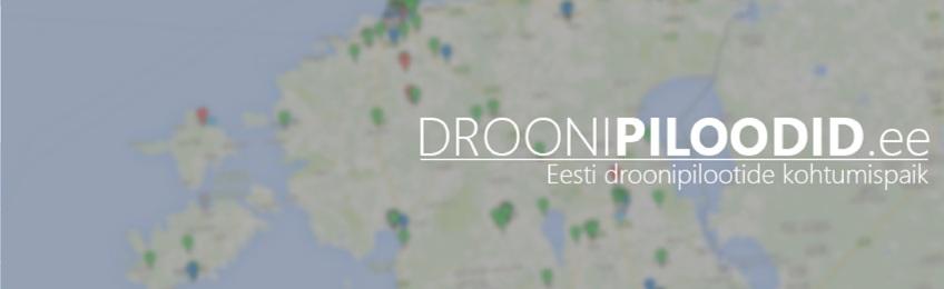 Droonipiloodid.ee – Eesti droonipilootide kohtumispaik