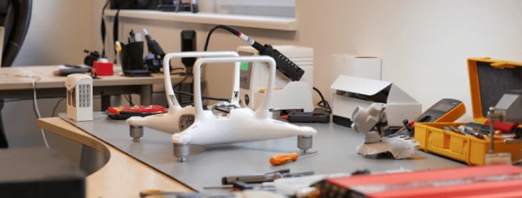 Vea defekteerimise akt kindlustatud droonile