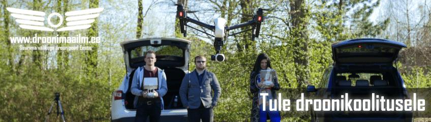 """Droonikoolitus """"Basic"""" Droonimaailmas"""
