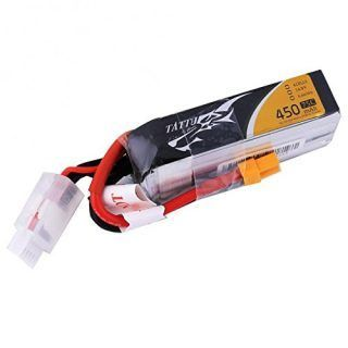 TATTU 450mAh 14.8V 75C 4S1P Lipo Battery Pack--Long Size for H FrameTATTU 450mAh 14.8V 75C 4S1P Lipo Battery Pack--Long Size for H Frame