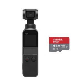 DJI Osmo Pocket + SanDisk 64GB mälukaart