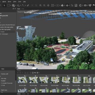 Fotogramm-meetria tarkvara koolitus