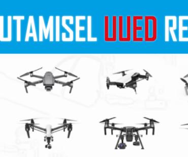 1. juulist muutusid olulised droonilennutamise reeglid.