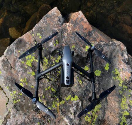 XOAR DJI Inspire 2 Carbon Fiber Propellers High Quality Props 1550 15x5 CW CCW (2 Pairs)