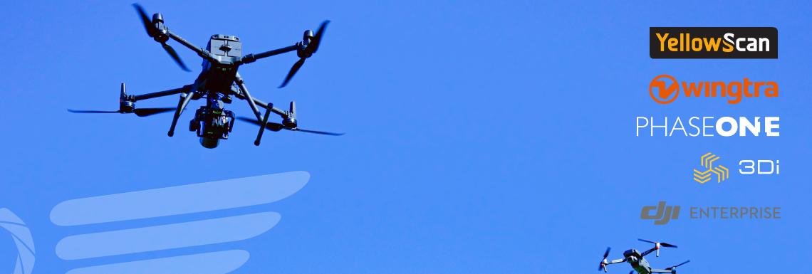 Multirootorid – ja droonid Valklas 30.09.2021