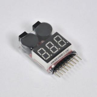 LiPo Alarm 1S-8S