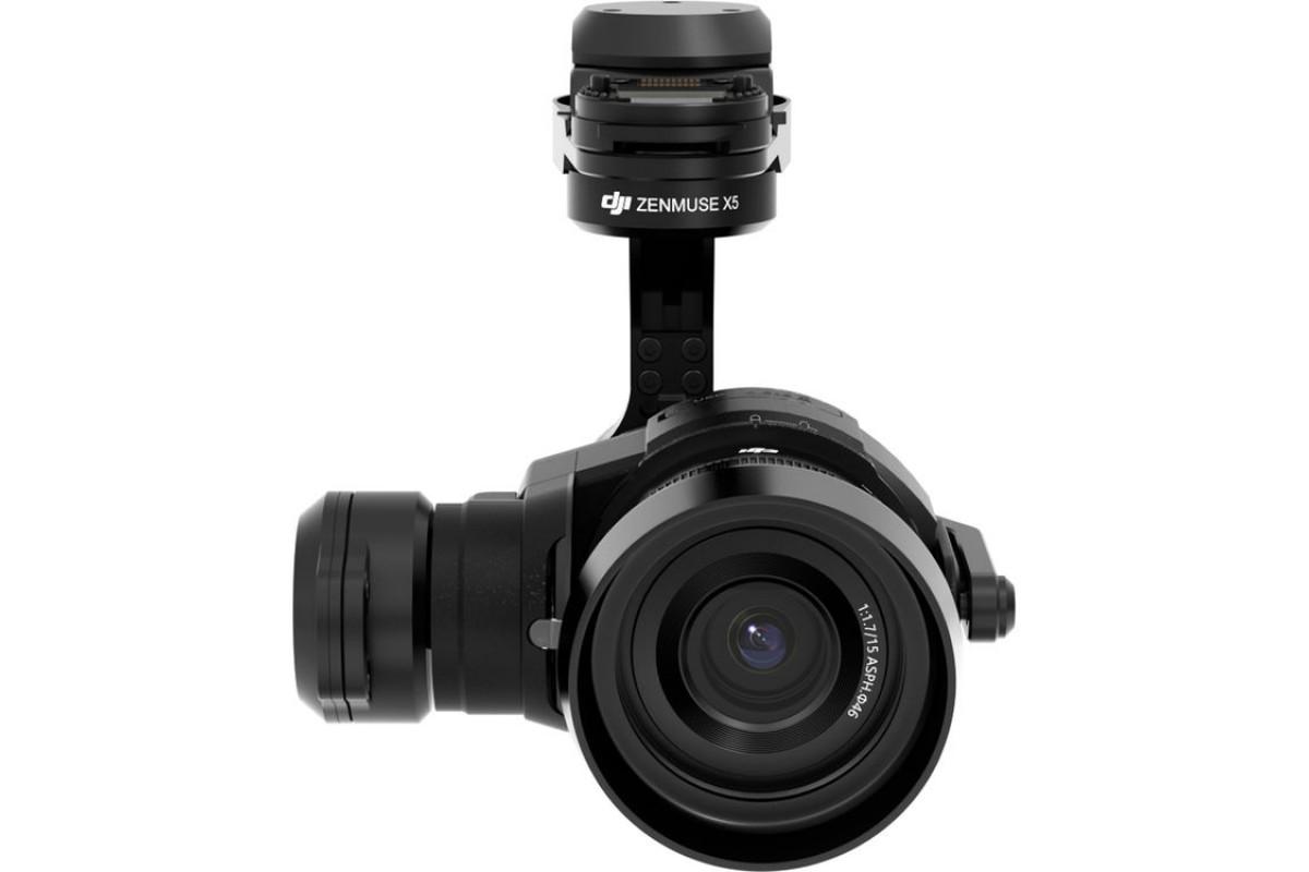 DJI Zenmuse X5 Camera with lens and gimbal