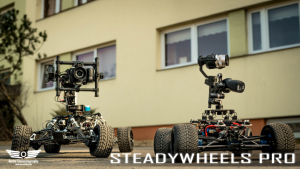 SteadyWheels Pro ja SteadyWheels OSMO X5/X5R