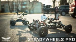 SteadyWheels Pro ja SteadyWheels OSMO X5/X5R