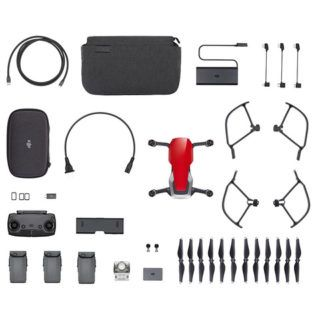 DJI Mavic Air Punane Fly more Combo