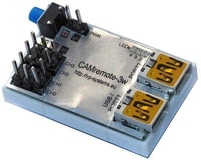 Standard Set of the CAMremote-3w (2.4 GHz Wifi version)